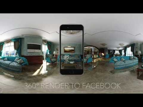 How to prepare and Upload 360° Renders to Facebook