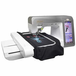Babylock Embroidery and Sewing Machine Ellegante BLG If I can't get the Ellisimo this would be my next choice!
