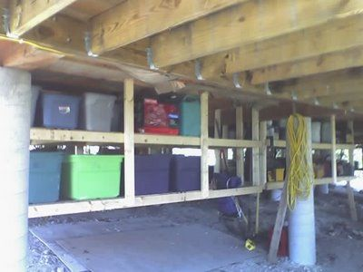 Best 25 Under Deck Storage Ideas On Pinterest Deck Storage