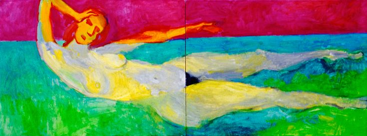 "Юрiй Єрмоленко, ""ВЕЛИКА ПЛИВУЧА ФIГУРА"" (проект ""СПАЛАХ"") 1999, полотно, олiя, 105x280 см. #YuryErmolenko #юрийермоленко #ЮрийЕрмоленко #yuryermolenko #юрийермоленкохудожник #painting #живопись #art #contemporaryart #modernart #fineart #искусство #texture #artwork #picture #RapanStudio #exhibition #colour #hotgirls #nude #nudepainting #eroticpainting #eroticart #hot #sexy #flash #colorful #expressive #metaphysics #oilpainting #humanbody #figurativeart #nudeart #figurative #artgallery"