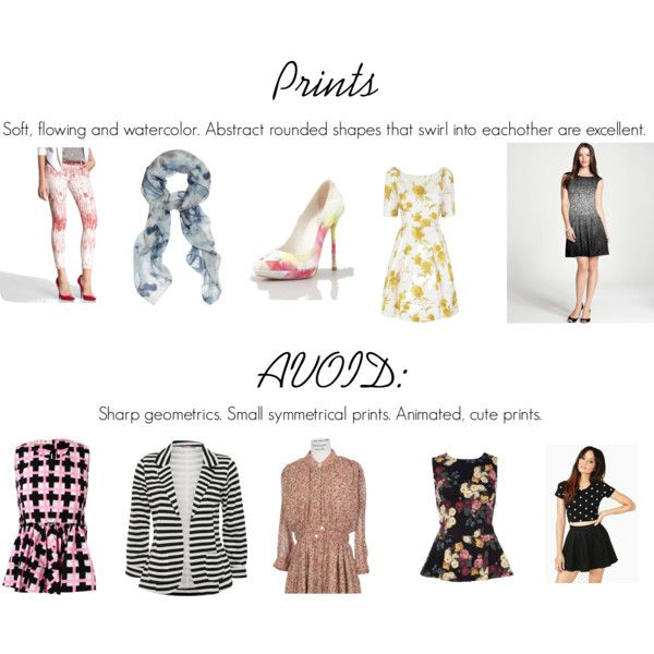 Soft Classic Prints and AVOID by oscillate on Polyvore
