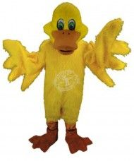 Enten Maskottchen Kostüm 2 (Professionell)