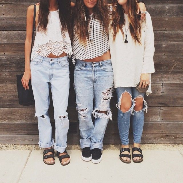 1000  images about Denim style on Pinterest | Jeans Boyfriend