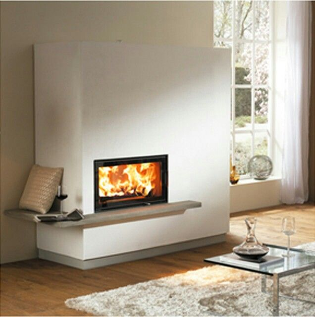 92 best modern wood stoves and inserts images on pinterest for Modern wood burning insert