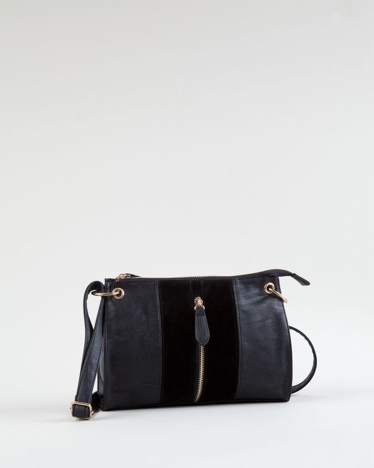 Zip closed handbag http://bit.ly/1qN19YE Bolso cremallera http://bit.ly/1sqCafF