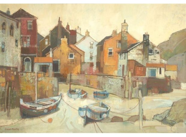 a Corner of Staithes...by Moira Huntly