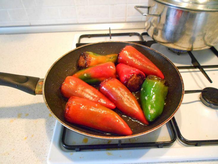 peperoni fritti di Benevento .... senza parole!