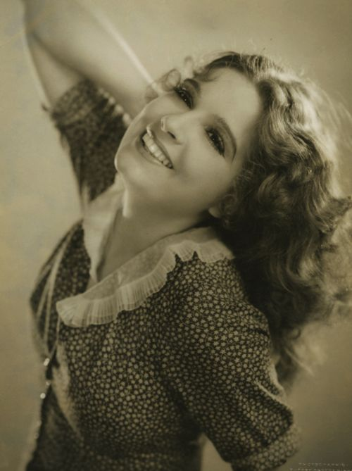 Lili Damita, 1929, an actress now mostly remembered as Errol Flynn's first wife.