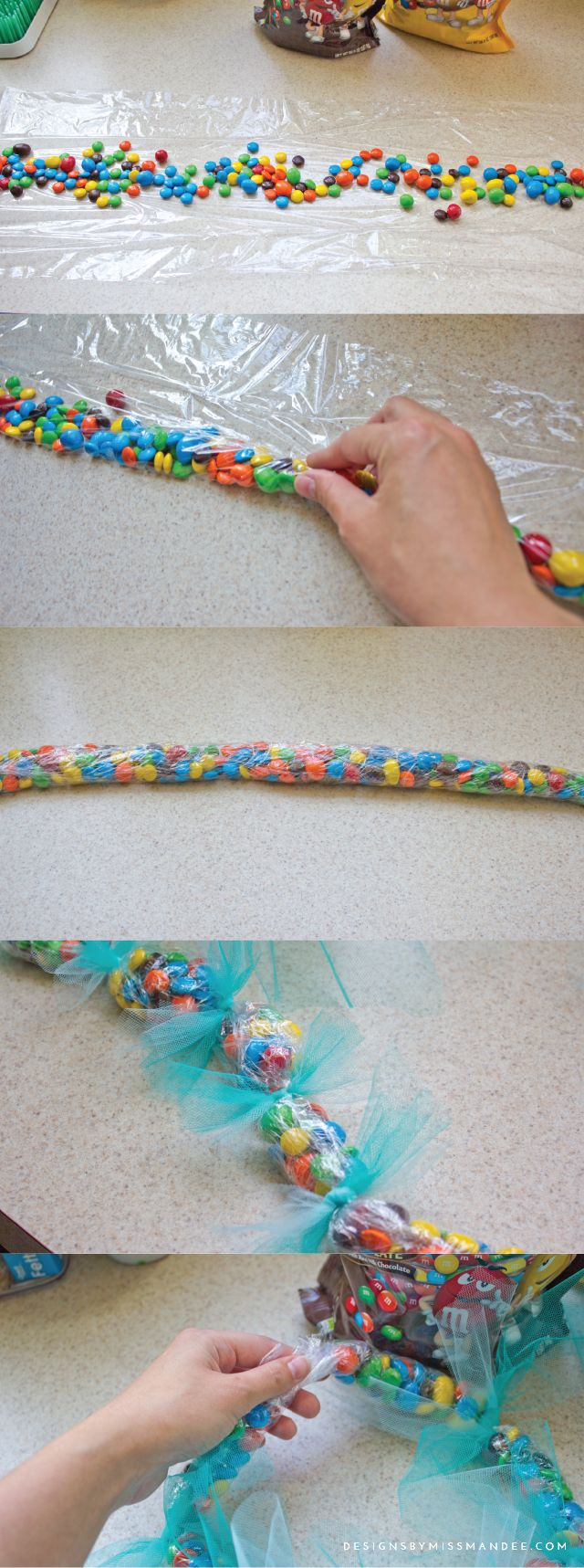 Leis with M&M's® and Hawaiian Clip art - Designs By Miss Mandee. Love the way these look! They would be perfect for a summer luau party! #ShareFunshine #Ad