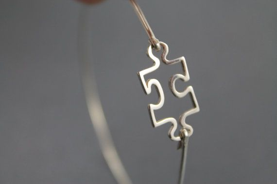 Sterling Silver Bangle Bracelet  Charm Bracelet  by 25MaidenLane, $29.00