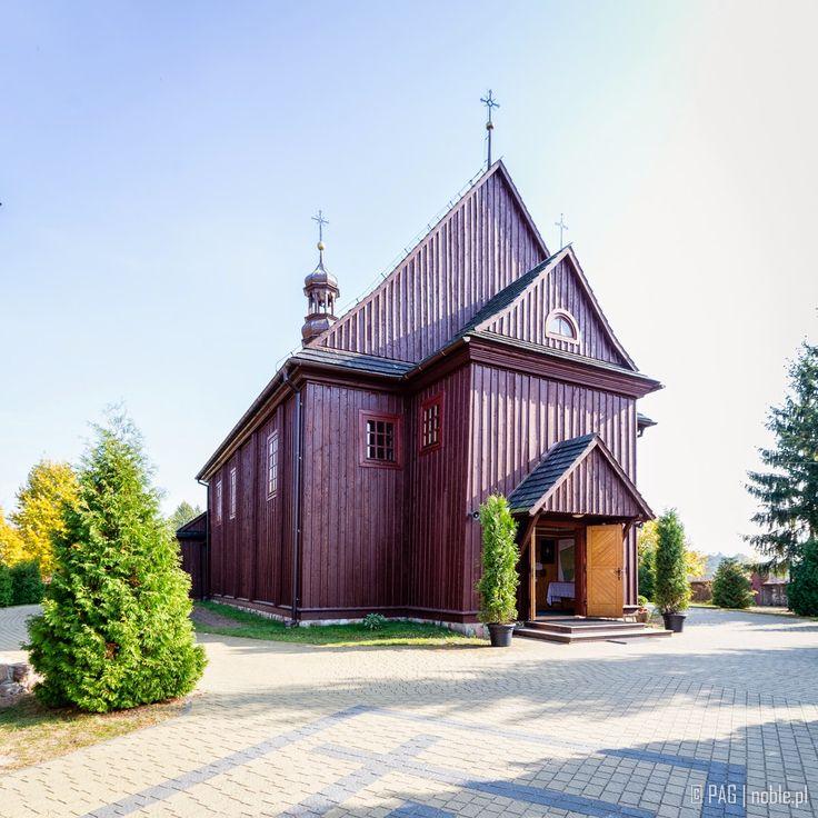 Wooden church of st. Adalbert (Wojciech), Ranczo Wilkowyje, Jeruzal, Poland