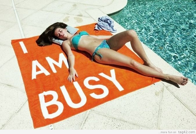 Clearly busy.  Get your own sippy cup.Beach Towels, Life, Style, Stuff, Funny, Business Beach, Summertime, Sun, Summer Time