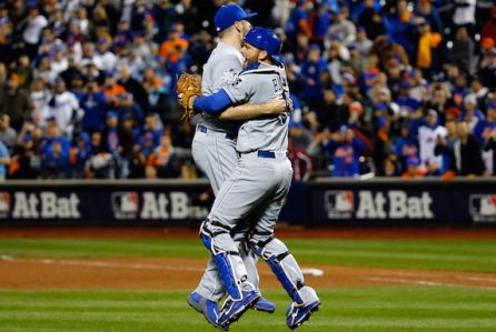 World Series 2015 win Kansas City Royals v New York Mets - Game Five
