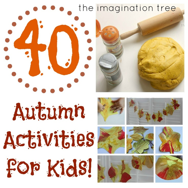 Some great inspiration for play, crafts and learning activities related to Fall!