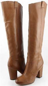 SAM EDELMAN TUCKER Saddle Womens Designer Shoes Knee High Boots 9.5