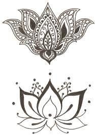 Image result for tribal flower tattoos