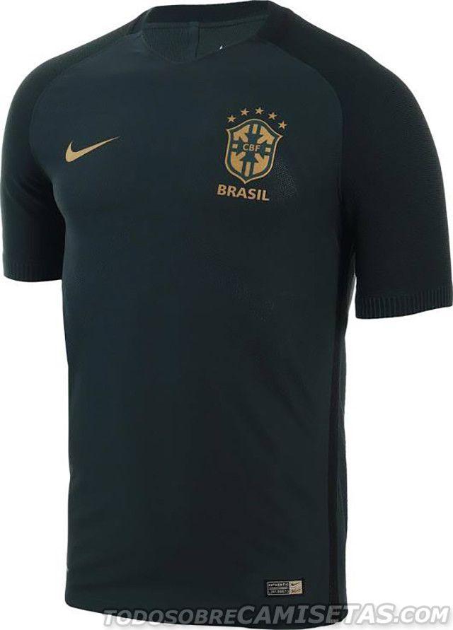 Tercera camiseta Nike de Brasil 2017  83303faa6525a