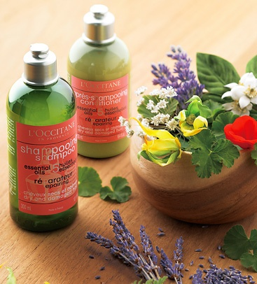 L'occitane hair care