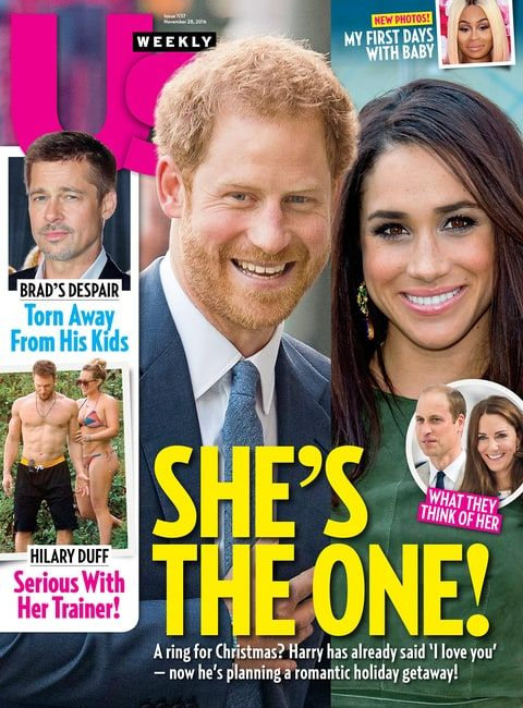During Meghan Markle's recent visit to London, Prince Harry introduced her to brother William, sources tell Us Weekly — get all the details