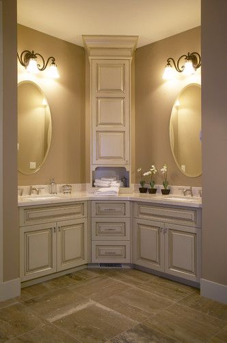 798 best images about bathroom shower ideas on pinterest for Master bathroom cabinet ideas