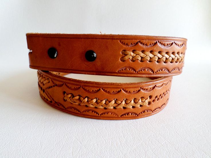 size 32 82 cm mexican snap on belt strap 1 3 8 inch 3 5 cm tan hand tooled and labellebelts. Black Bedroom Furniture Sets. Home Design Ideas