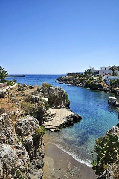 The small beach of Avlemonas