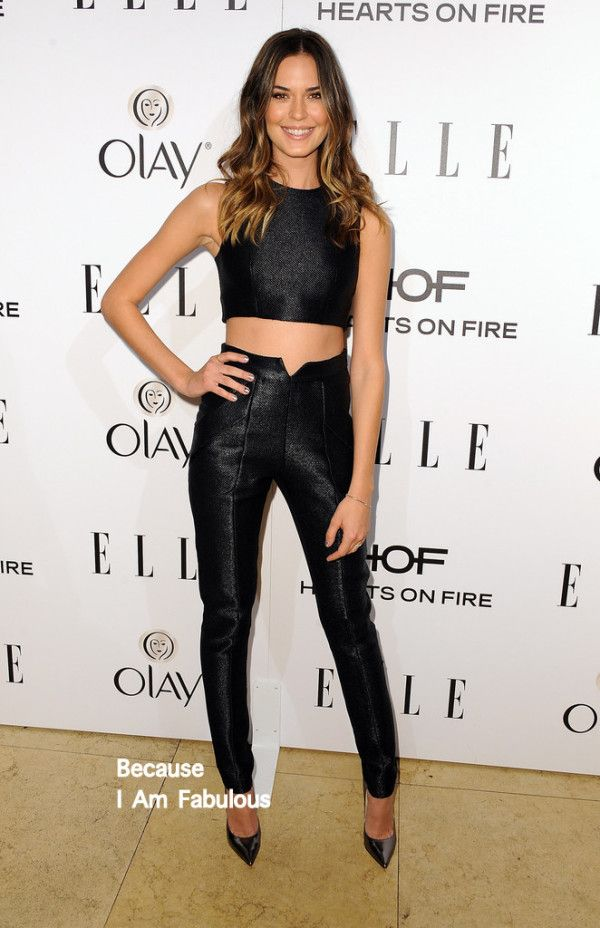 Odette Annable in Paper London | ELLE's Annual Women in Television Celebration