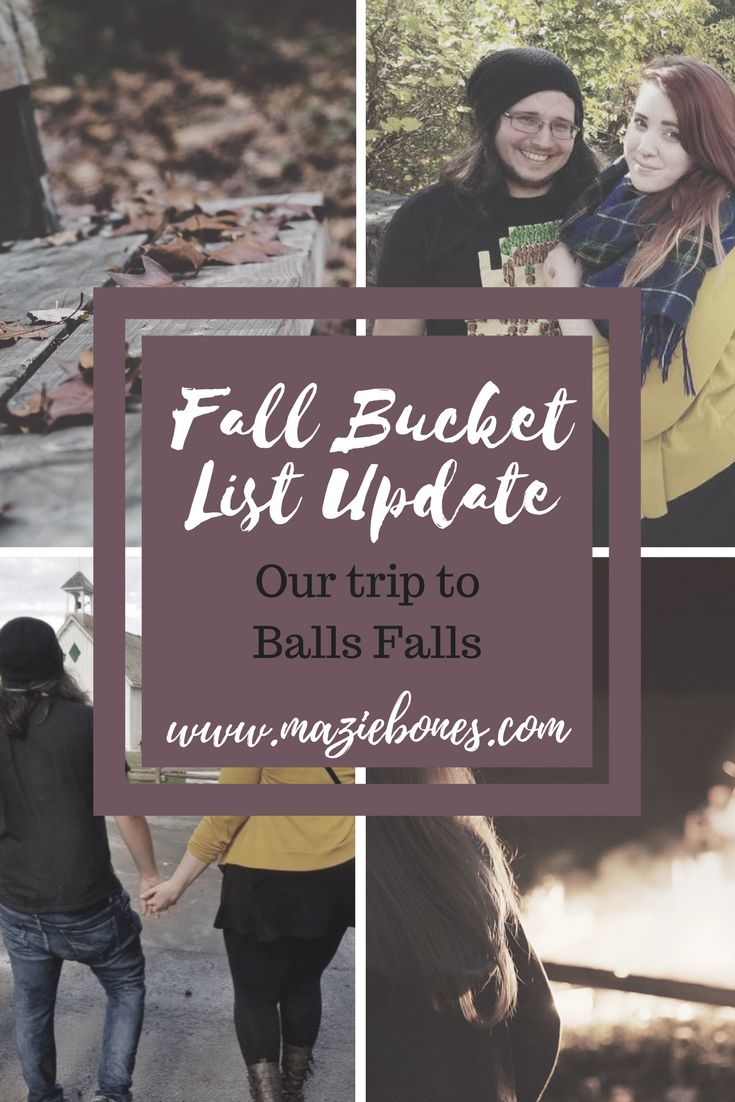 A few weeks ago I posted my Fall Bucket Listand promised that I would be posting updates whenever I cross an item off the list! Well, here I am with that first update! Yesterday we attended the Balls Falls craft show! Andrea volunteers there every year and runs a vendor relief program so …
