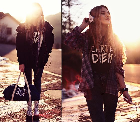 304 Clothing Denim Bag, The Dude Pants, Unif Boots, Who Cares Nyc Top, Mintyjungle Flannel, 1:Face Watch Watch, Ark Clothing Jacket, Beats By Dre Headphones
