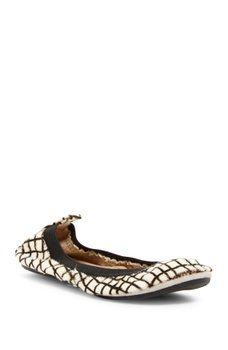 Yosi Samra - Genuine Calf Hair Foldable Flat