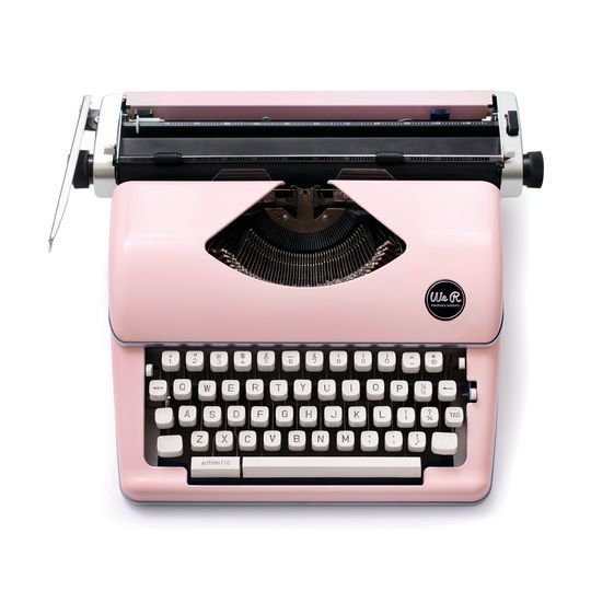 Purchase the We R Memory Keepers® Typecast Typewriter, Pink at Michaels.com. Create a retro-inspired invite using this We…