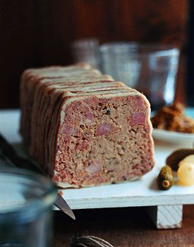 Country Terrine - A simple recipe that yields delicious results at Epicurious.com