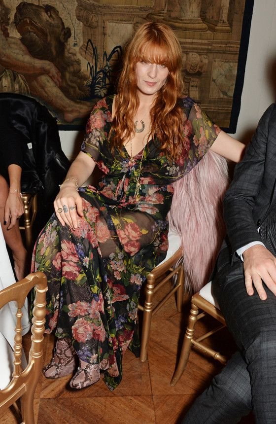 Florence Welch - Gucci and Frieze Masters Dinner in London. (October 2014)