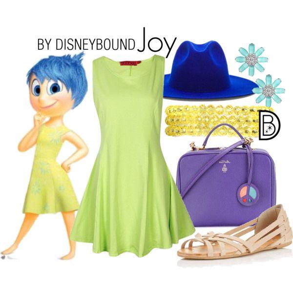 Joy themed outfit  raisingdisneyaddicts.com