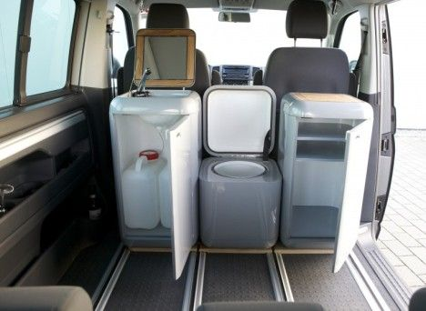 Wish these had been around about 30 years soone--buddy box system for van camping.