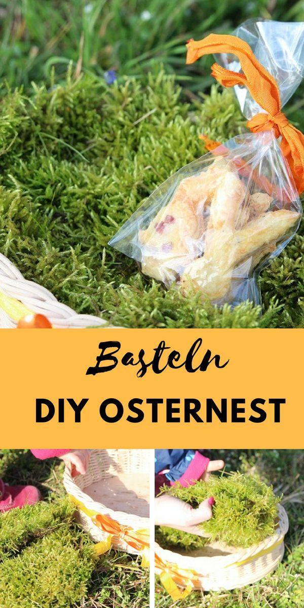 Diy Osternest Basteln Unsere Anleitung Für Osterkörbchen