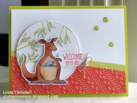 Stampin' Seasons: Stamp Review Crew: Animal Outing