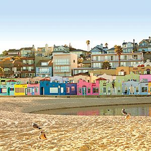 Dream Town: Capitola, California In a Coastal