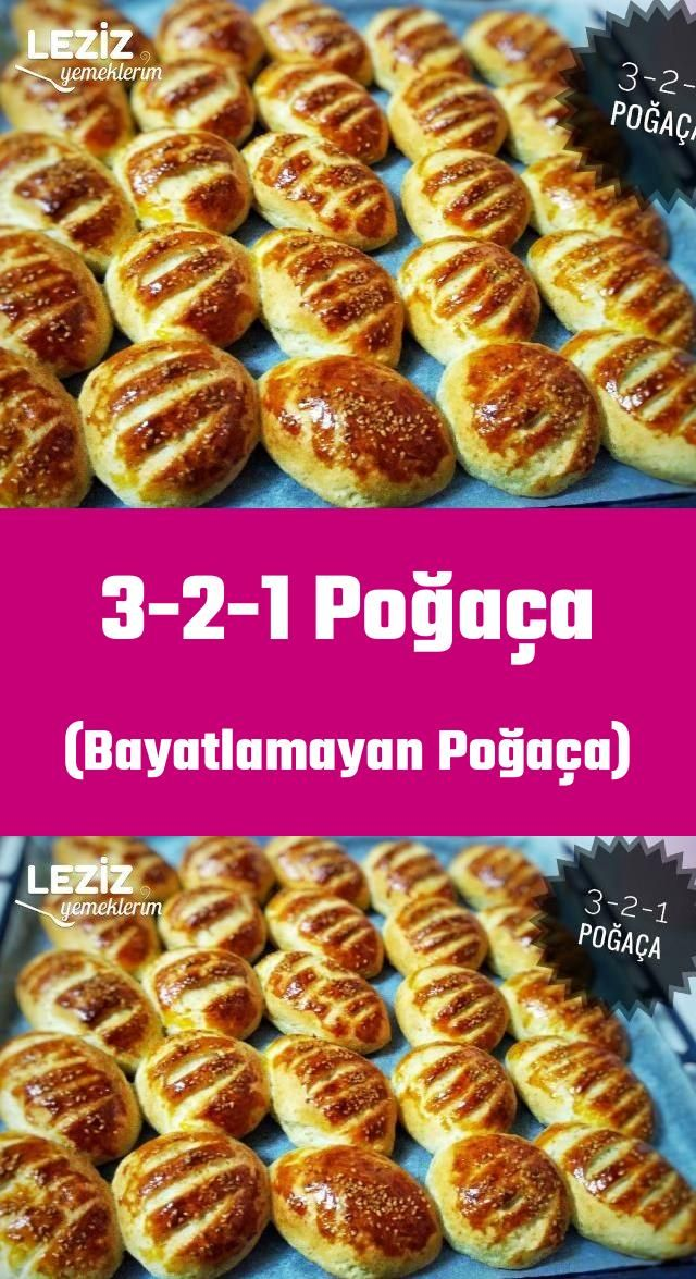 3-2-1 Donut (nicht abgestandener Donut)   – Poğaça Tarifleri
