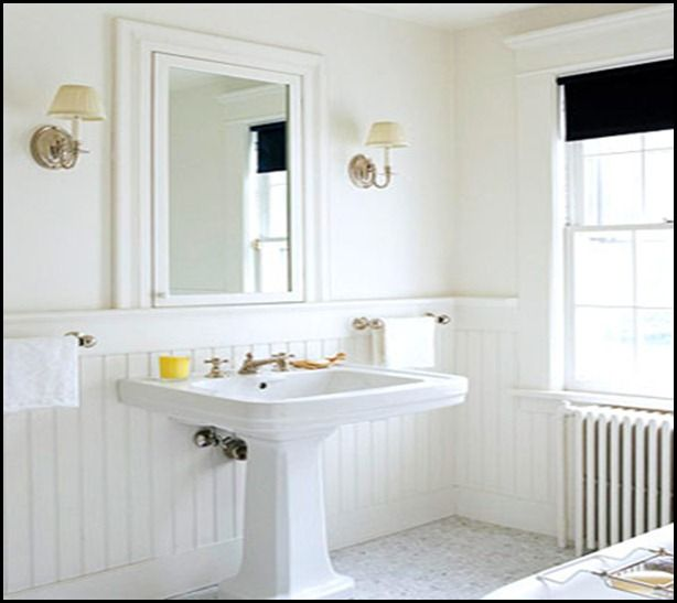 Beadboard Ceiling Bathroom: 95 Best Bath Images On Pinterest