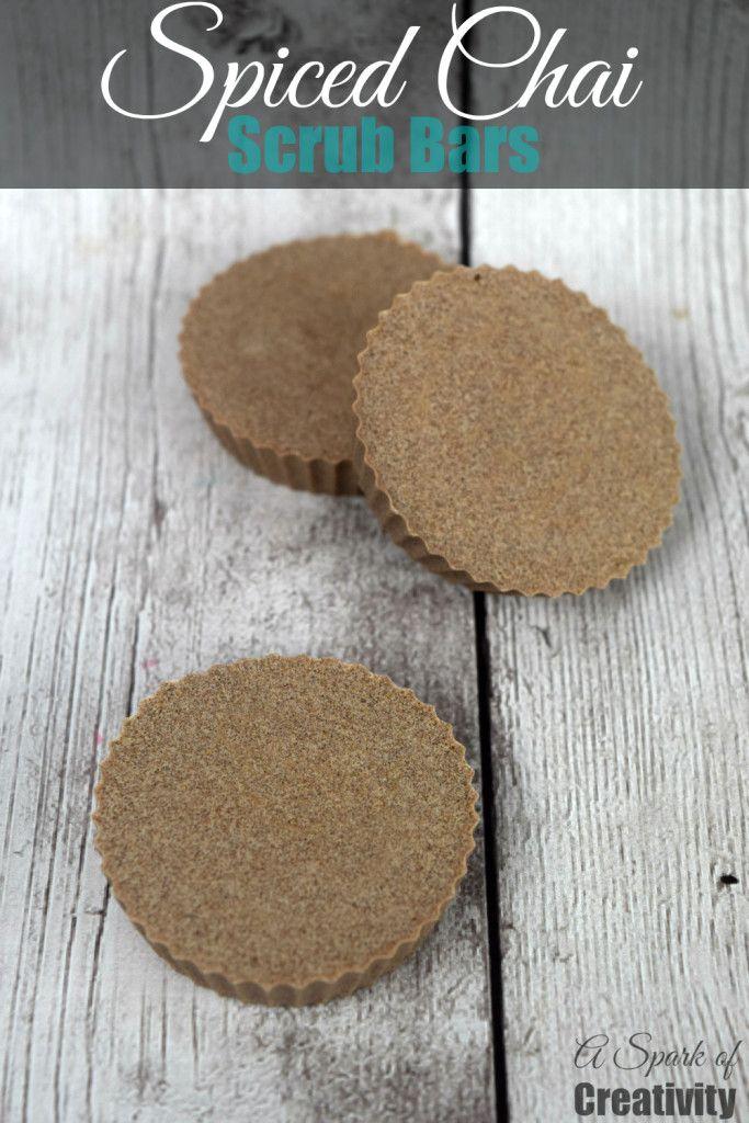 Spiced Chai Scrub Bars