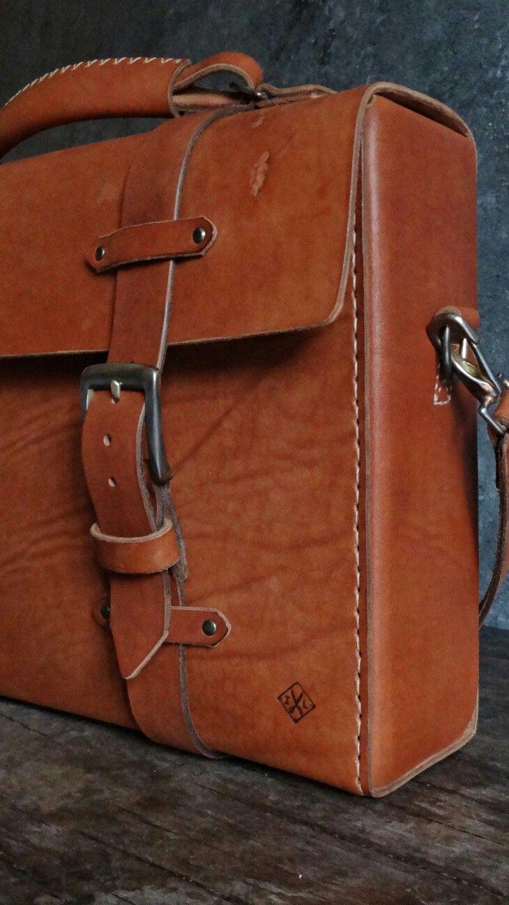Men's bag. Leather bag. Портфель. Кожаный портфель.