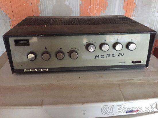 c7b965faf Predám elektrónkový zosilňovač - 1 | Vintage