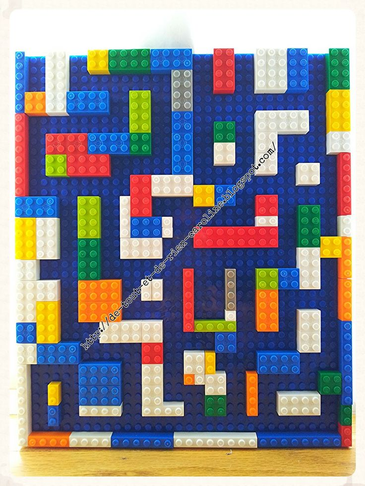 Everything and nothing: Activities for Preschool: Create a bagatelle game and a maze with Lego building bricks. Create a magnetic pinball game and a labyrinth of Legos