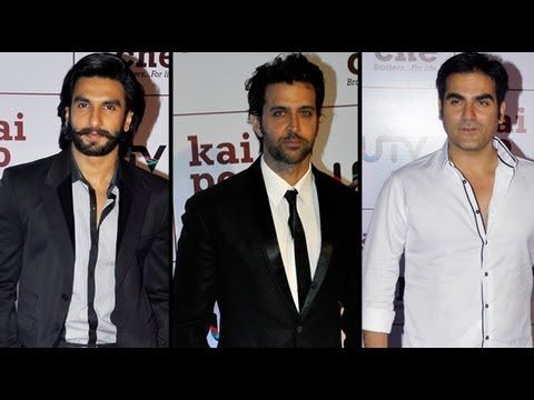 UTV had a grand filmi premiere of their film 'Kai Po Che!', which is directed by Abhishek Kapoor of 'Rock On!!' fame and which stars Sushant Singh Rajput, Amit Sadh and Raj Kumar Yadav in pivotal roles.    A smattering of Bollywood celebrities were seen walking down the red carpet, dressed in their casual Sunday best, for the grand premiere. The w...