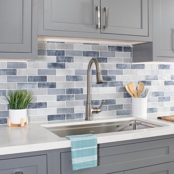 Thassos Diagonal Square And Blue Celeste Marble Tile In 2020 Kitchen Backsplash Designs Kitchen Decor Inspiration Kitchen Remodel Small
