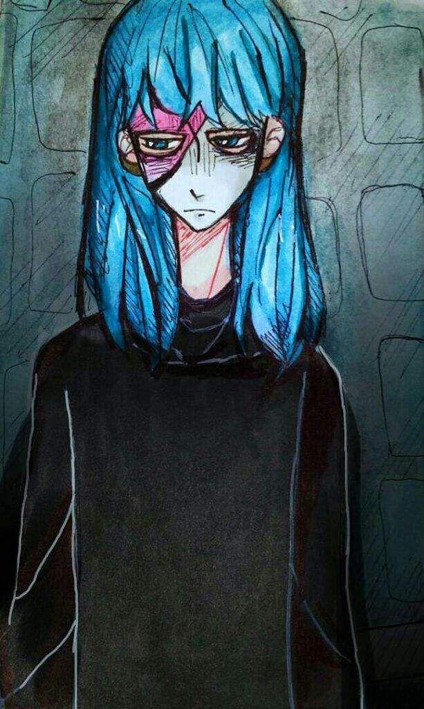 """Sallyили жеSally Face —главный герой одноимённой игры """"Sally ..."""