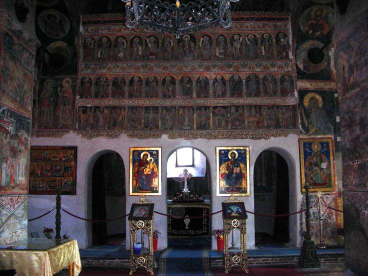 Saint Nicholas in Targ church. Also known as the Princely Church at Curtea de Arges, Romania.