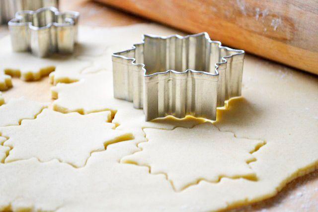 Dieses Rezept vom #Mürbteig kann je nach Geschmack weiterverarbeitet werden, für süße Kekse oder pikante Quiches.