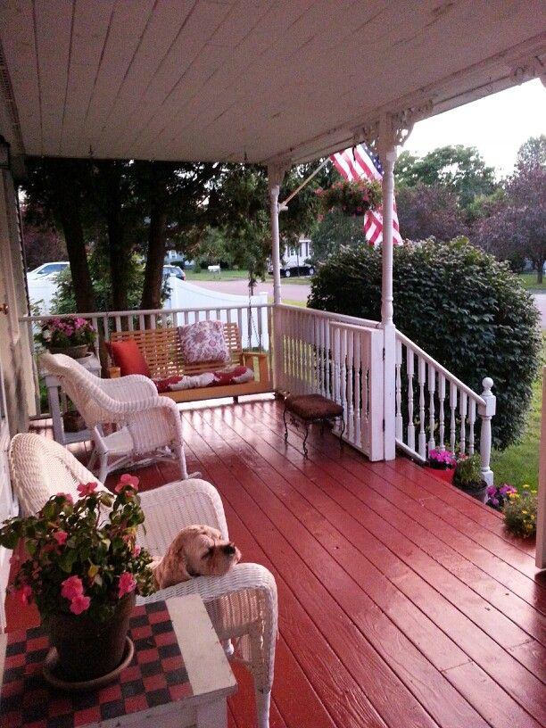 Painted Front Porch Floor Decorating Ideas Pinterest
